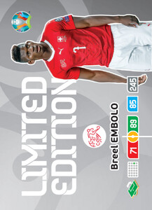 EURO 2020 LIMITED EDITION Breel Embolo