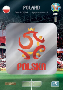 EURO 2020 TEAM LOGO Poland #244
