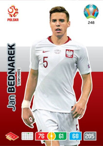 EURO 2020 TEAM MATE Jan Bednarek #248