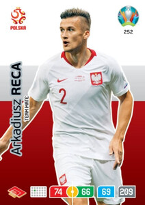 EURO 2020 TEAM MATE Arkadiusz Reca #252