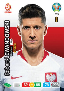 EURO 2020 FANS - CAPTAIN Robert Lewandowski #255