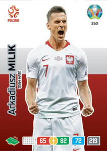 EURO 2020 TEAM MATE Arkadiusz Milik #260