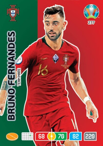 EURO 2020 TEAM MATE Bruno Fernandes #277