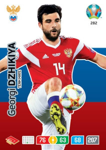 EURO 2020 TEAM MATE Georgi Dzhikiya #282