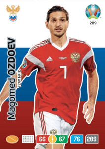 EURO 2020 TEAM MATE Magomed Ozdoev #289