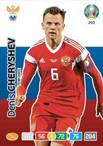 EURO 2020 TEAM MATE Denis Cheryshev #293