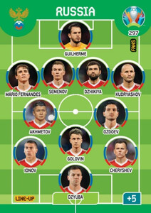 EURO 2020 LINE-UP Russia #297