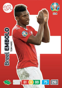 EURO 2020 TEAM MATE Breel Embolo #314