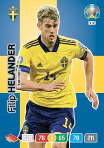 EURO 2020 TEAM MATE  Filip Helander #318