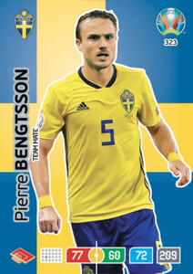 EURO 2020 TEAM MATE  Pierre Bengtsson #323