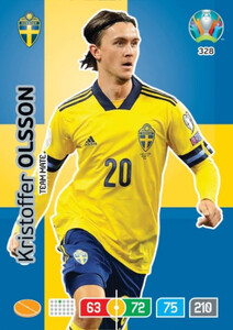 EURO 2020 TEAM MATE Kristoffer Olsson #328