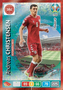 EURO 2020 POWER UP - DEFENSIVE ROCK Andreas Christensen #398