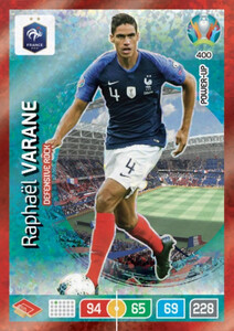 EURO 2020 POWER UP - DEFENSIVE ROCK Raphaël Varane #400