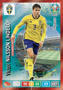 EURO 2020 POWER UP - DEFENSIVE ROCK Victor Nilsson Lindelof #405