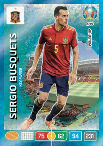 EURO 2020 POWER UP - KEY PLAYER Sergio Besquets #409