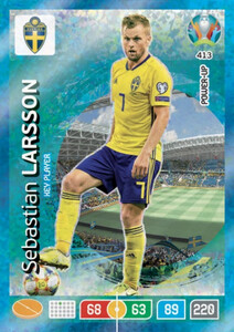 EURO 2020 POWER UP - KEY PLAYER Sebastian Larsson #413