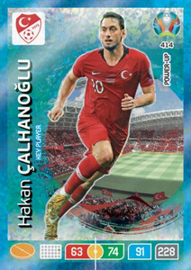 EURO 2020 POWER UP - KEY PLAYER Hakan Calhanoglu #414
