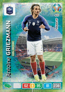 EURO 2020 POWER UP - GOAL MACHINE Antoine Griezmann #420