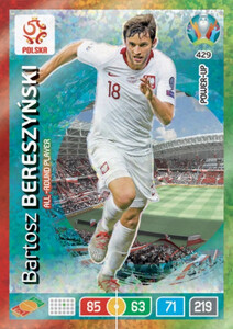 EURO 2020 POWER UP  ALL-ROUND PLAYER Bartosz Bereszyński #429
