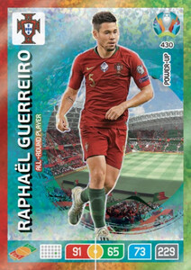 EURO 2020 POWER UP  ALL-ROUND PLAYER Raphael Guerreiro #430