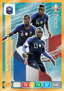 EURO 2020 MULTIPLE - MIDFIELD ENGINES  Kante / Pogba / Matuidi #442