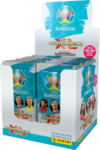 EURO 2020 BOX 50x saszetka UK & IRELAND EDITION