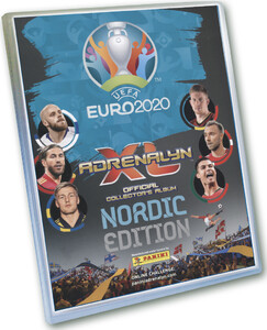 EURO 2020 Album do zbierania Kart NORDIC EDITION