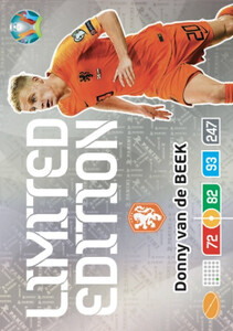 EURO 2020 LIMITED EDITION Donny van de Beek