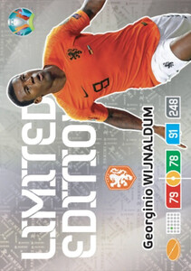 EURO 2020 LIMITED EDITION Georginio Wijnaldum