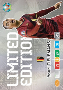 EURO 2020 LIMITED EDITION Youri Tielemans
