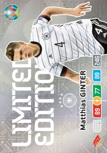 EURO 2020 LIMITED EDITION Matthias Ginter