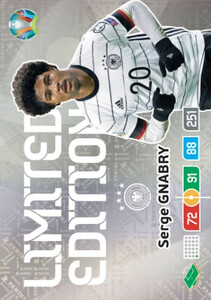 EURO 2020 LIMITED EDITION Serge Gnabry