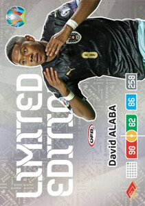 EURO 2020 LIMITED EDITION David Alaba