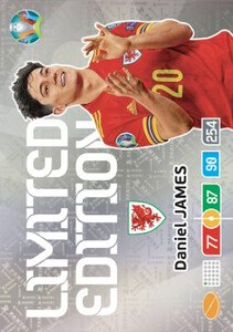 EURO 2020 LIMITED EDITION Daniel James