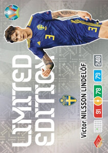 EURO 2020 LIMITED EDITION Victor Nilsson Lindelof