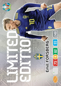 EURO 2020 LIMITED EDITION Emil Forsberg