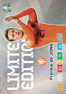 EURO 2020 LIMITED EDITION Frenkie de Jong