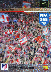 2016 FIFA 365 12th MAN ATLETICO DE MADRID #298