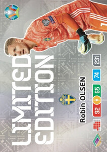 EURO 2020 LIMITED EDITION Robin Olsen