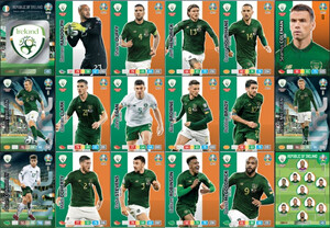 EURO 2020 TEAM Republic of Ireland set 18 cards