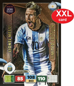 ROAD TO RUSSIA 2018 LIMITED XXL Lionel Messi