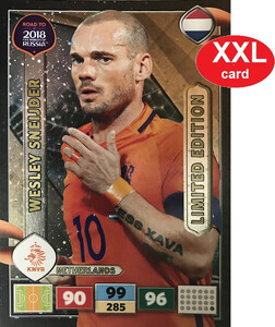 ROAD TO RUSSIA 2018 LIMITED XXL Wesley Sneijder