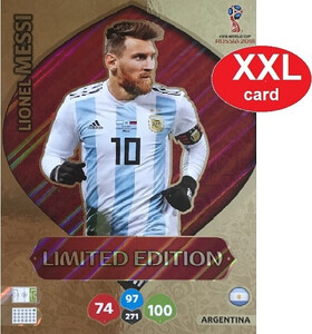 WORLD CUP RUSSIA 2018 LIMITED XXL Messi