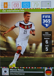 2016 FIFA 365 INTERNATIONAL STAR Marco Reus #336