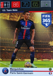 2016 FIFA 365 TEAM MATE PARIS SAINT-GERMAIN Marquinhos #133