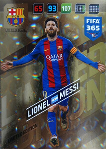 2018 FIFA 365 LIMITED EDITION Lionel Messi