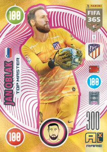 2021 FIFA 365 RARE TOP MASTER Jan Oblak #1