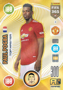 2021 FIFA 365 RARE TOP MASTER Paul Pogba #4
