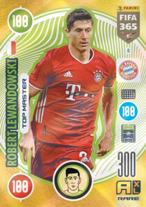 2021 FIFA 365 RARE TOP MASTER Robert Lewandowski #8