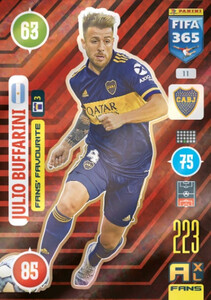 2021 FIFA 365 FANS' FAVOURITE Julio Buffarini #11